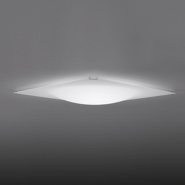 Ceiling Fixtures Quadra Ice Flat