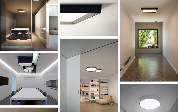 Skylights by Vibia: sky from the ceiling