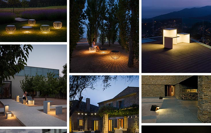 Living the night in the outdoors with Vibia