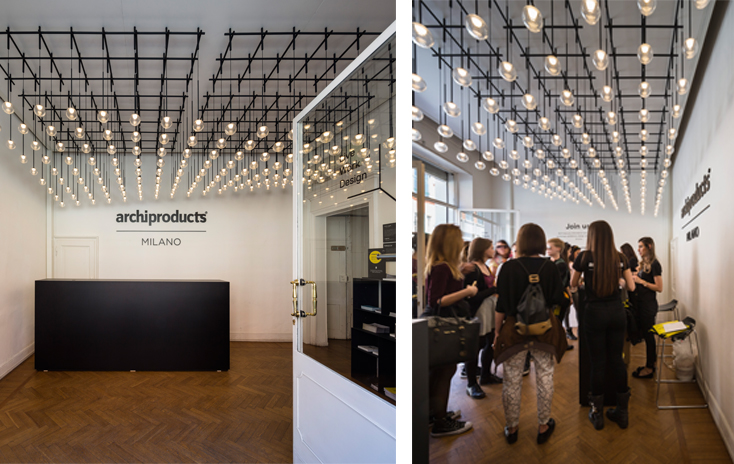Vibia lights Archiproducts' creative spaces in Milan
