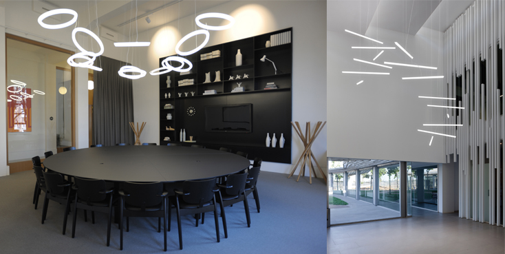Halo circular blog 3 with halo lighting becomes an integral part of architecture