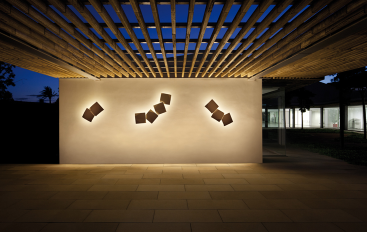 Vibia Origami Outdoor Wall Lamp