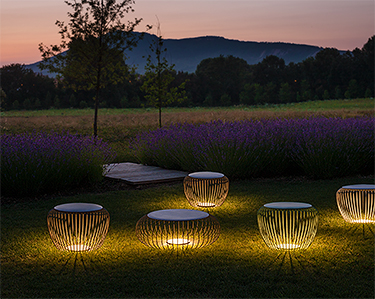 Meridiano: when furniture meets lighting