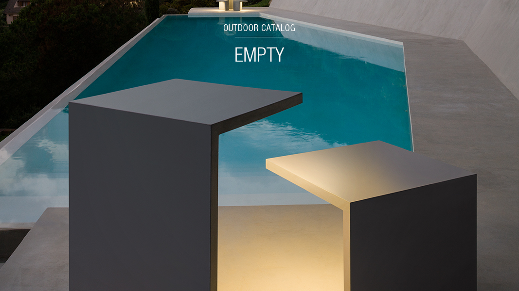 Empty -outdoor lamp -vibia