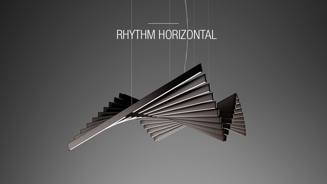 Rhythm Horizontal pedants Vibia