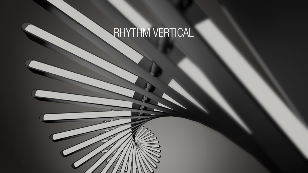 Rhythm vertical - Vibia Pendants