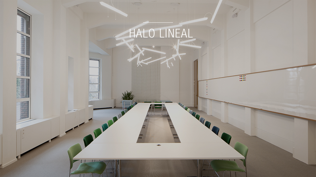 Halo lineal - Vibia pendant lamps