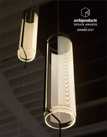 Vibia wins lighting category with Guise at Archiproducts Design Awards 2017