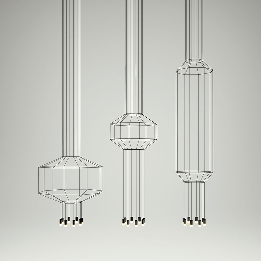 Vibia Wireflow Composing Light