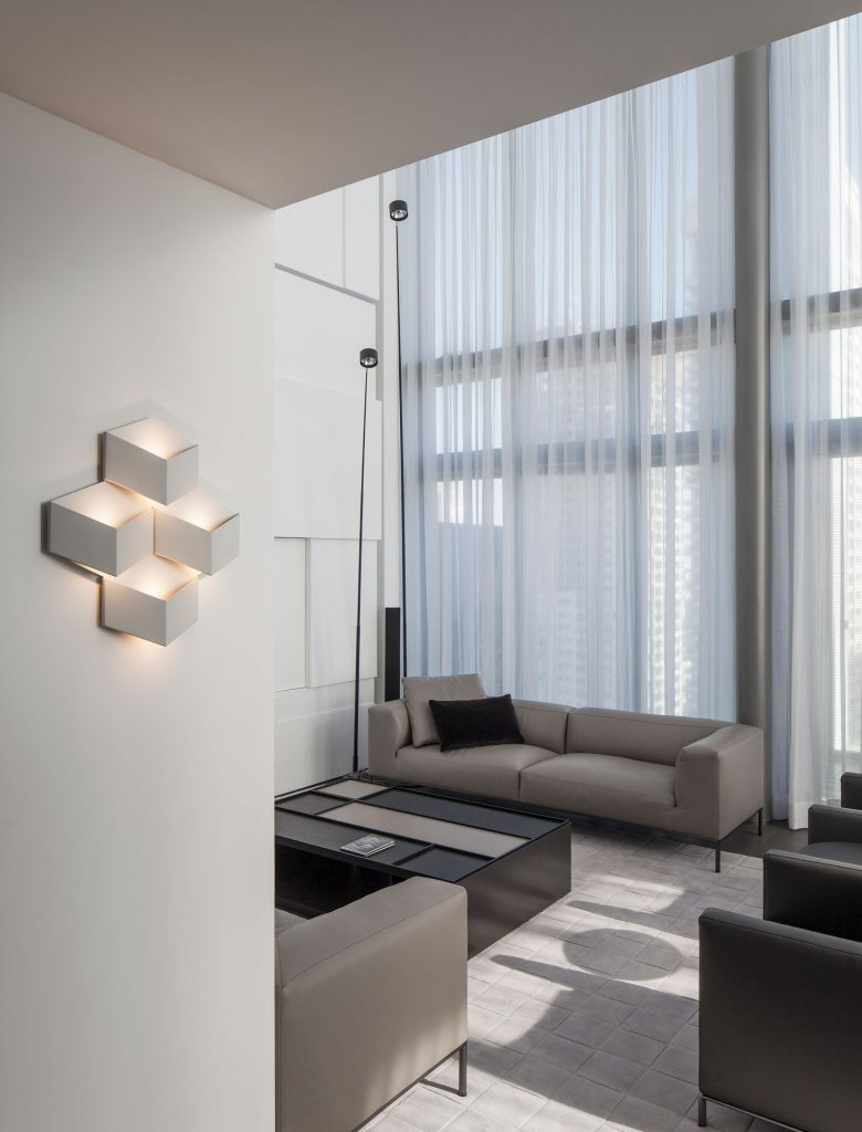 Vibia Fold Surface Lámpara de Pared - Ático, Tel Aviv