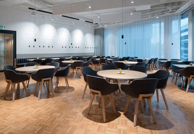 Vibia - The Edit - Wireflow - SEB Bank's New Stockholm Headquarters