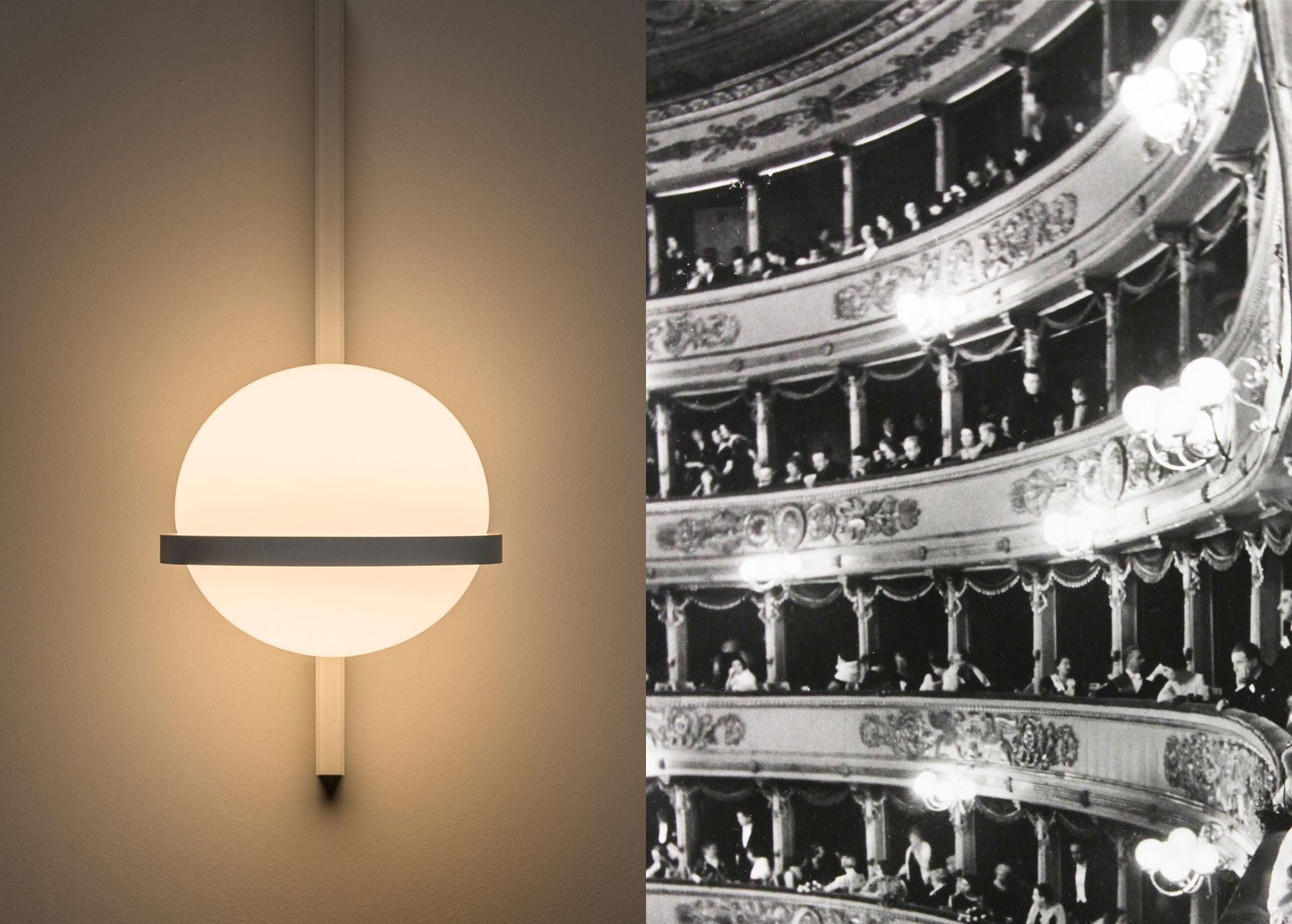 Vibia Design Concept - Evolving Tradition - Timeless Sphere - Palma