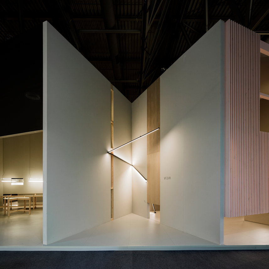 Vibia Light Building 2018 stand 11