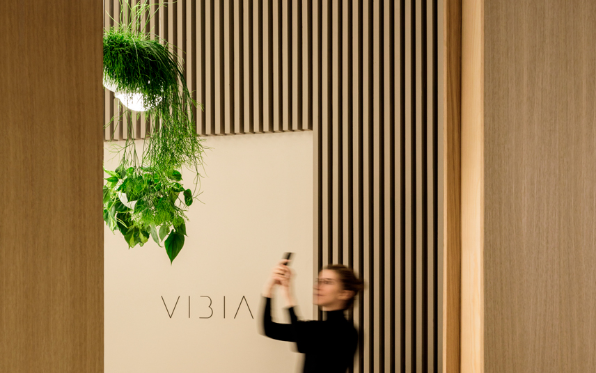 Vibia Light Building 2018 stand 31