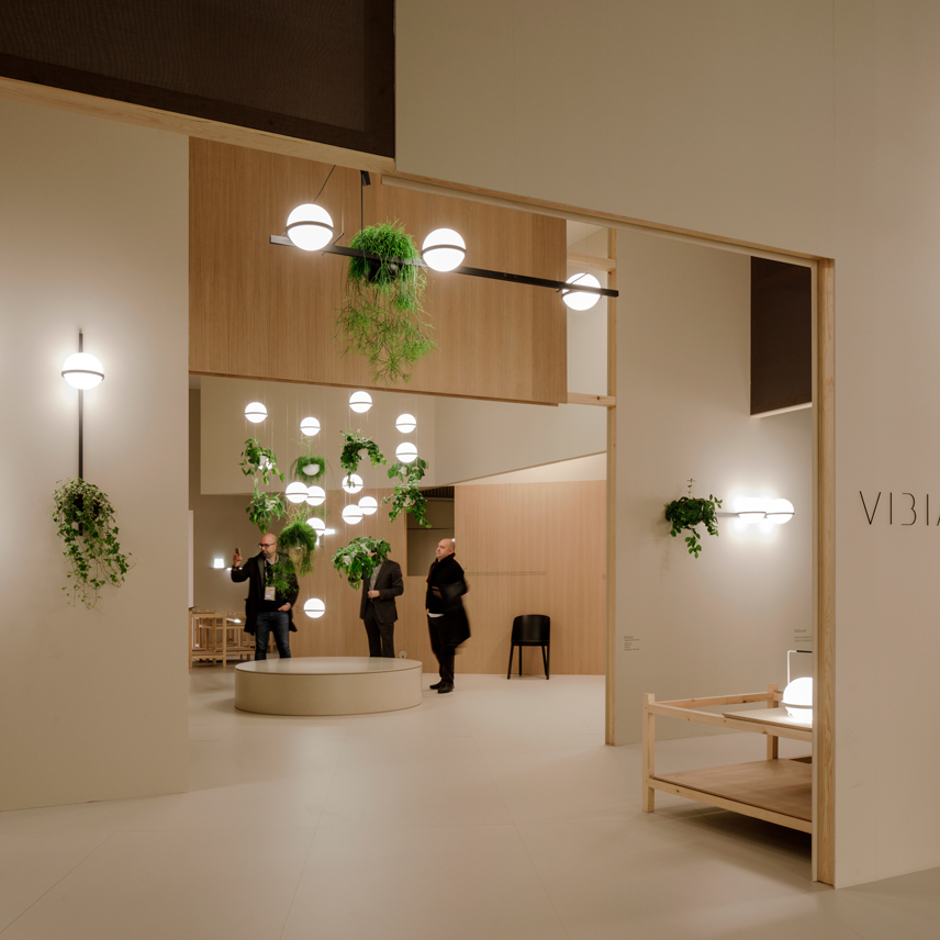 Vibia Light Building 2018 stand 32