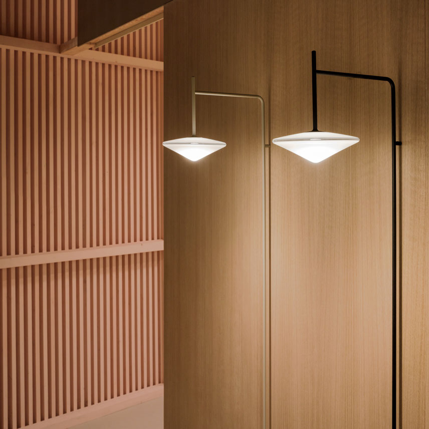 Vibia - Light + Building 2018 stand - Tempo