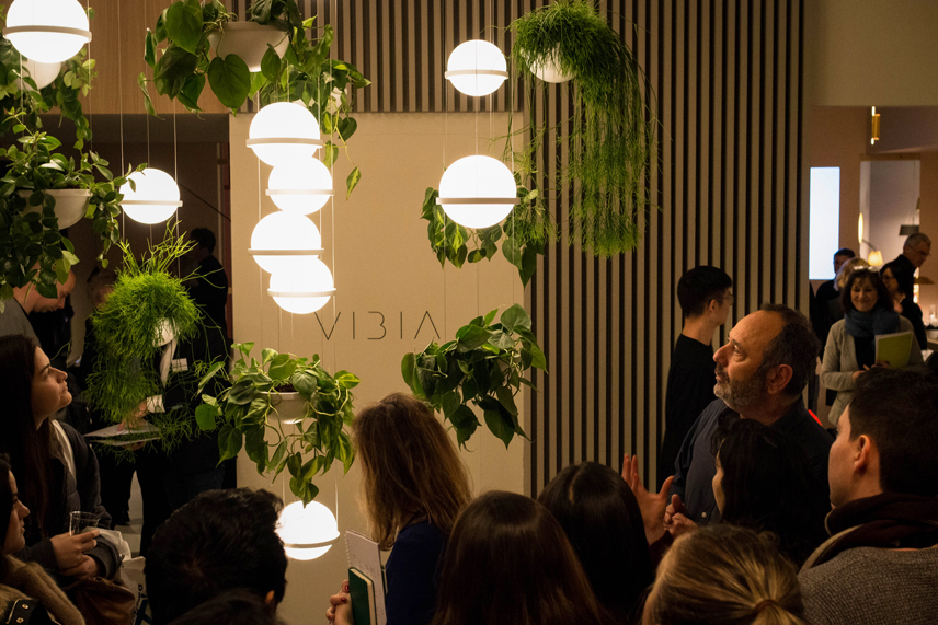 Vibia Light+Building press event Palma