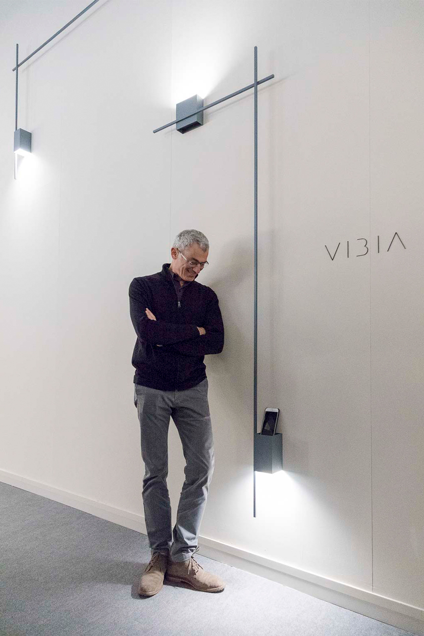 Vibia Light+Building press event Structural