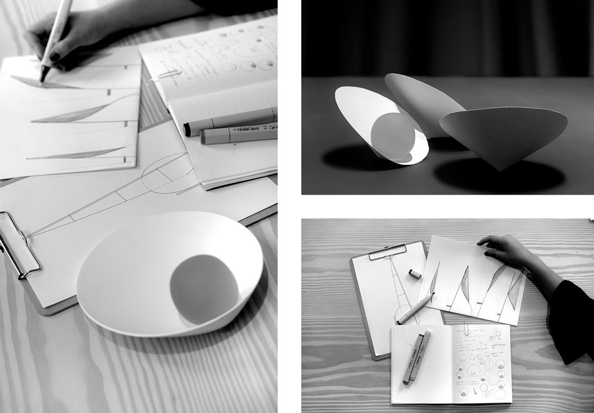 Vibia Musa Editorial sketches