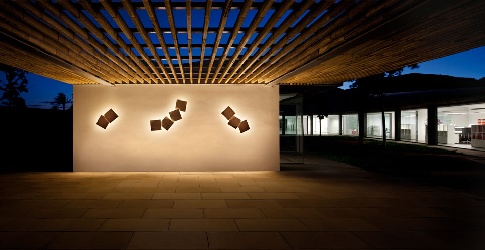 Vibia Stories OutdoorWall Origami_1