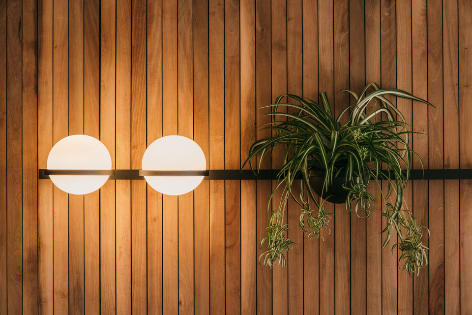The Palma Wall Lamp: Bringing the Outdoors In