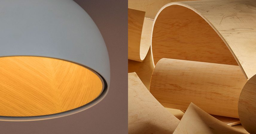 Vibia - Warm wood - Duo Ceiling lamp