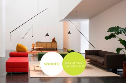North design by Arik Levy wins a Best of Year 2018 Award