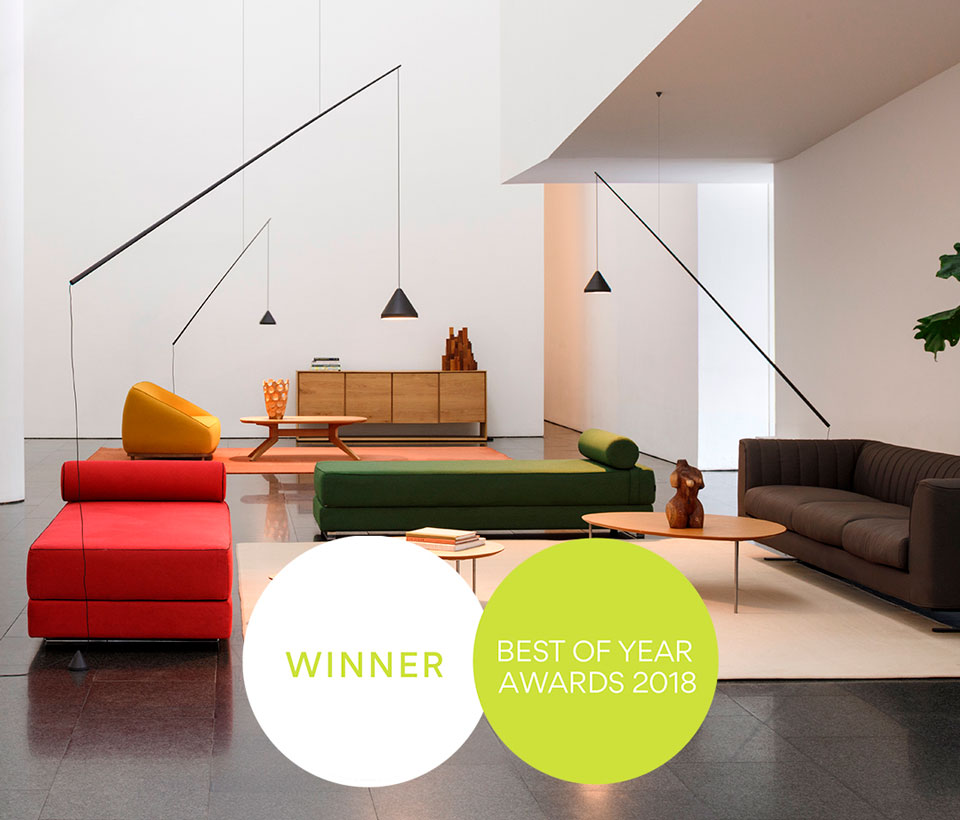 North Design By Arik Levy Wins A Best Of Year 2018 Award Vibia