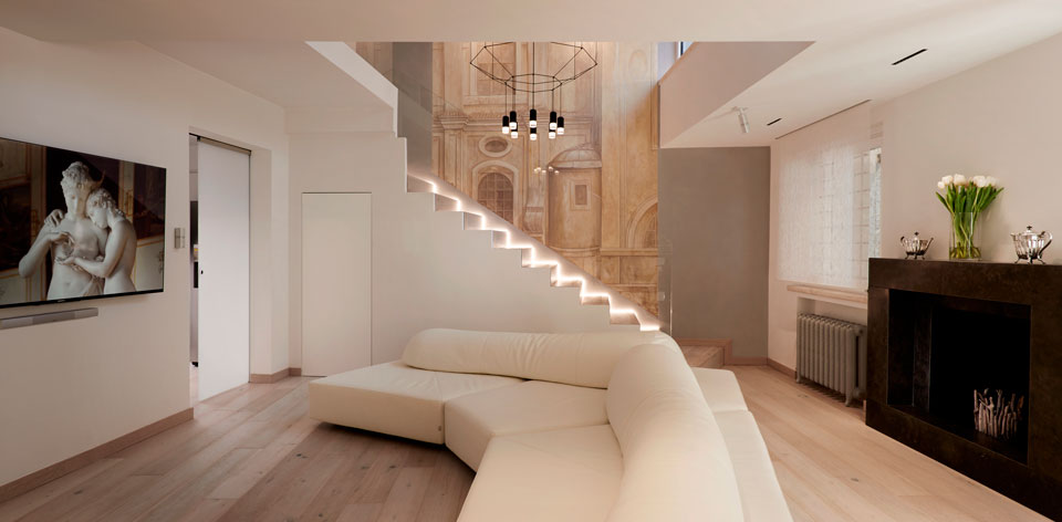Vivia - Stories - Roman Penthouse - Living-room