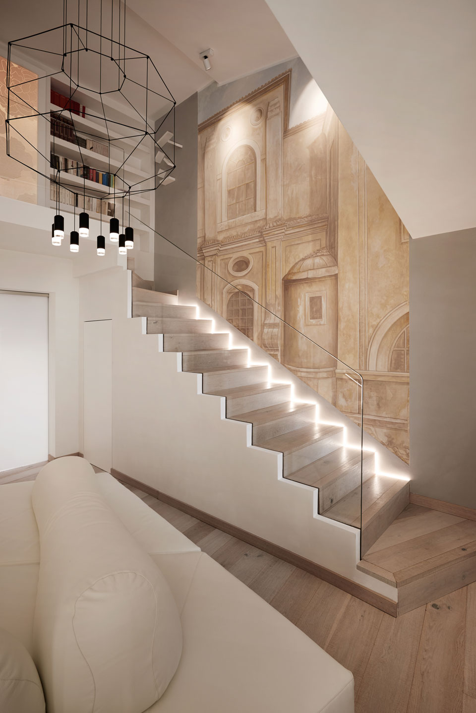 Vibia - Stories - Roman Penthouse - stair 2