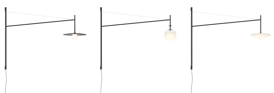 Vibia Tempo - Versatility wall lamp - Long arm