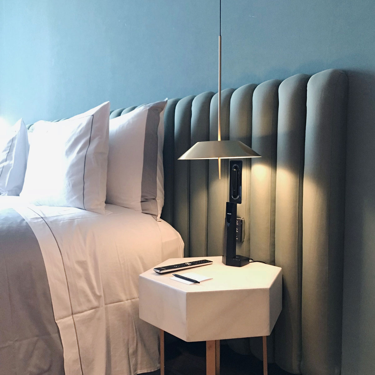 Leading Lights Vibia Brightens Hotel Bedrooms