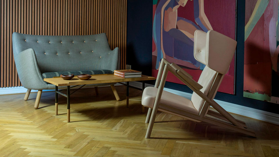 Vibia Stories - Finn Juhl Grasshopper chair