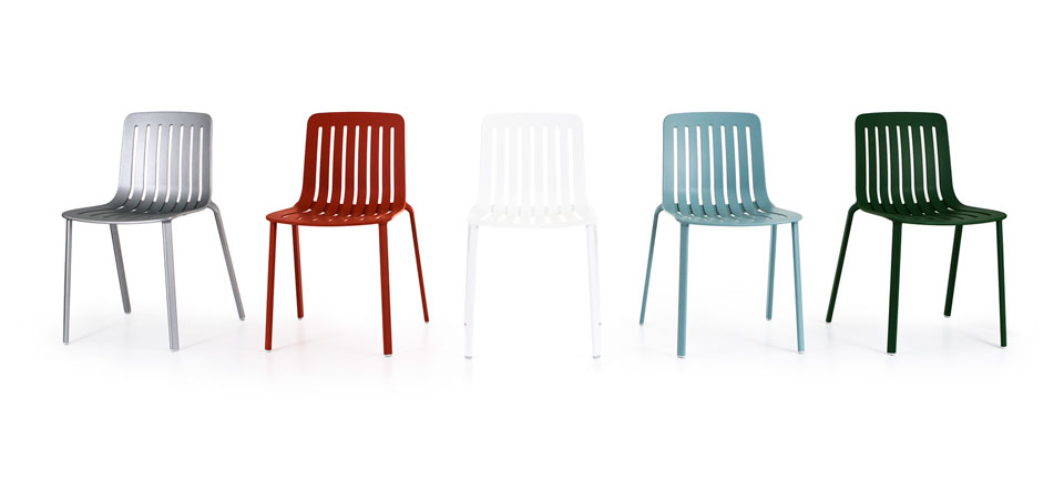Vibia Stories - Magis Plato chair by Jasper Morrison