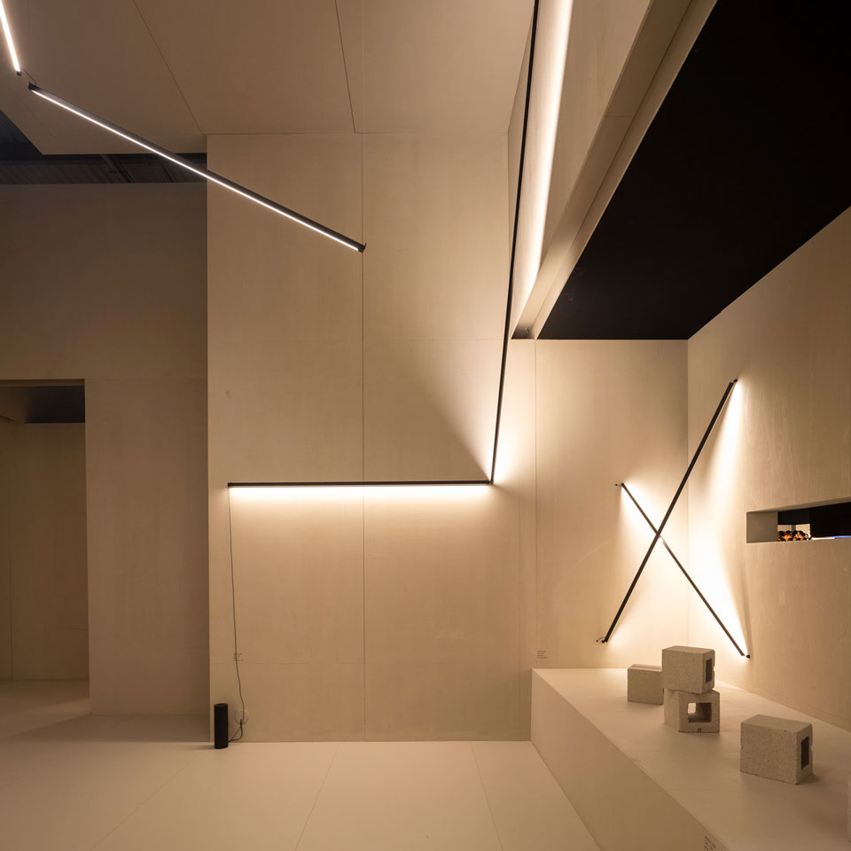 Vibia Euroluce 2019 - Sticks by Arik Levy