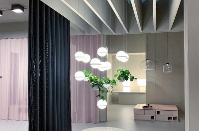 Vibia Stories Featured on Instagram - Euroluce 2019