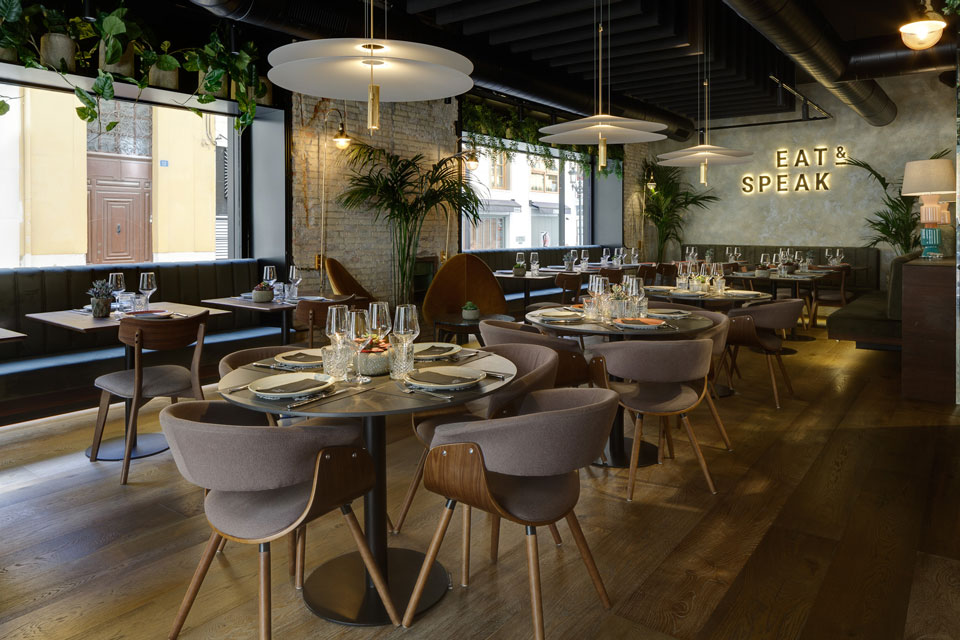 Vibia - Stories - Eat & Speak - Flamingo