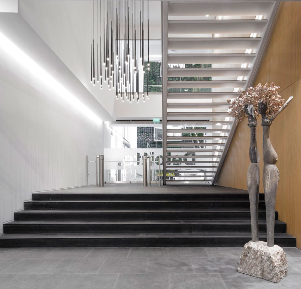 Vibia - Stories - Stairwell Ideas - Slim