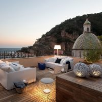 Al Fresco Living on the Amalfi Coast with Vibia Outdoor Lighting