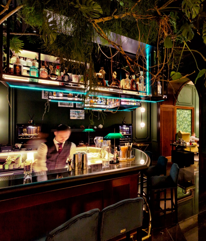 Vibia The Edit - Mayfair - Vibia Illuminates a Timeless Bratislavian Cocktail Bar