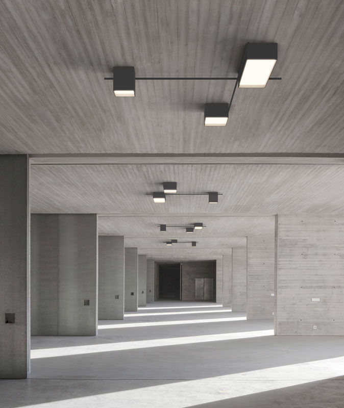 Vibia The Edit - Introducing Arik Levy's Structural Ceiling Light for Vibia