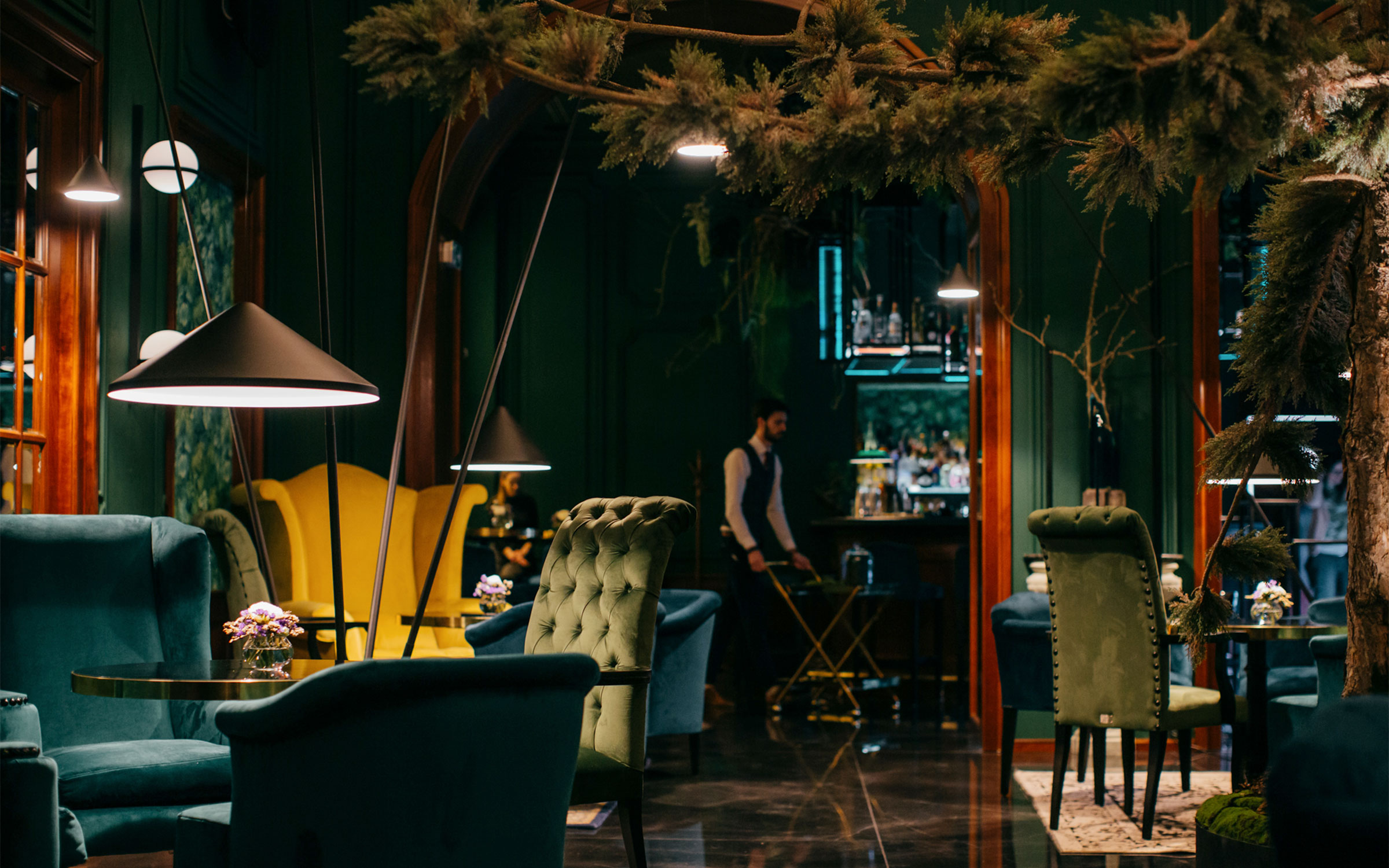 Vibia The Edit - North - Vibia Illuminates a Timeless Bratislavian Cocktail Bar