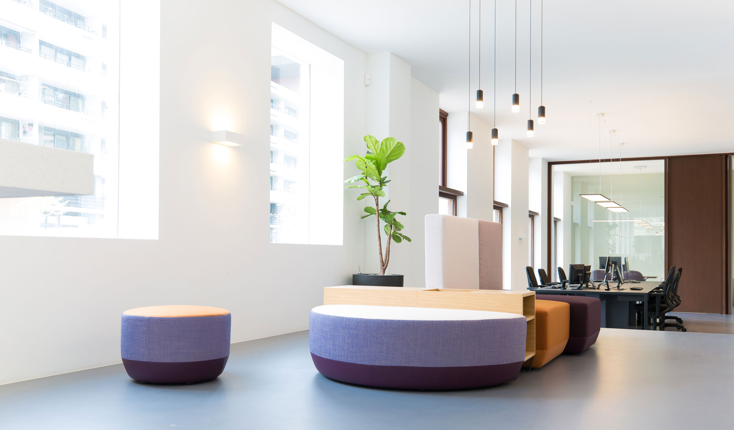 Vibia The Edit - Wireflow -Vibia Statement Lighting Illuminates a Rotterdam Office Space