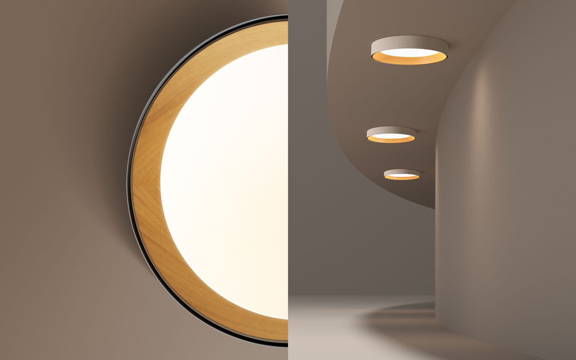 Vibia The Edit - Zoom In Zoom Out - Duo