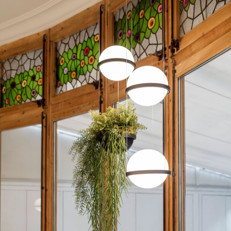Designers Select Vibia Lighting for a 1904 Barcelona Building Renovation