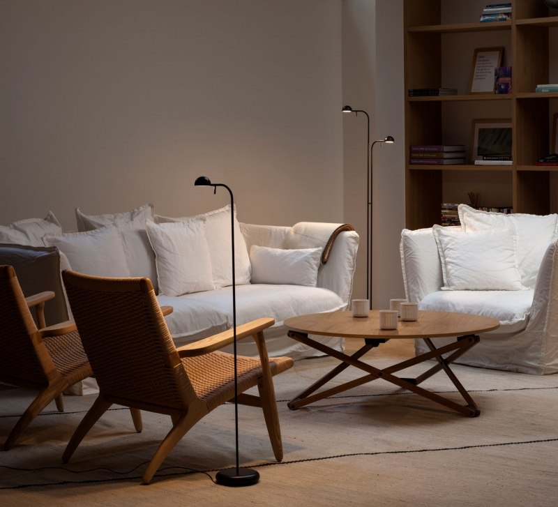 Vibia The Edit - Create a Relaxed Retreat at Home - Pin