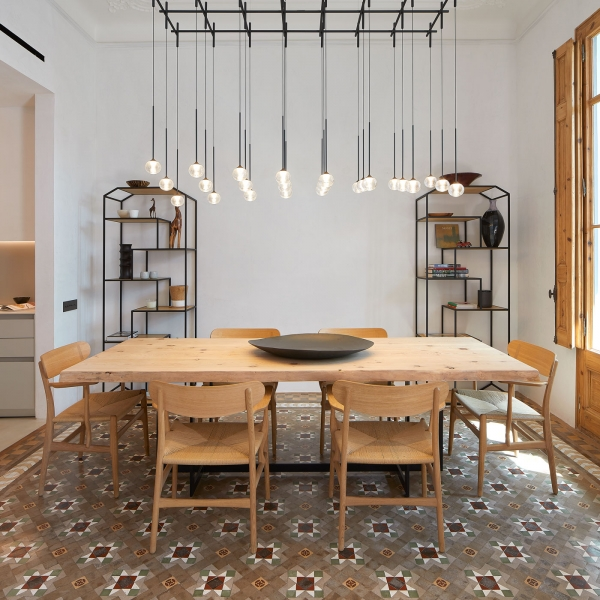 Vibia The Edit - Lighting to Brighten a Historic Barcelona Space - Match