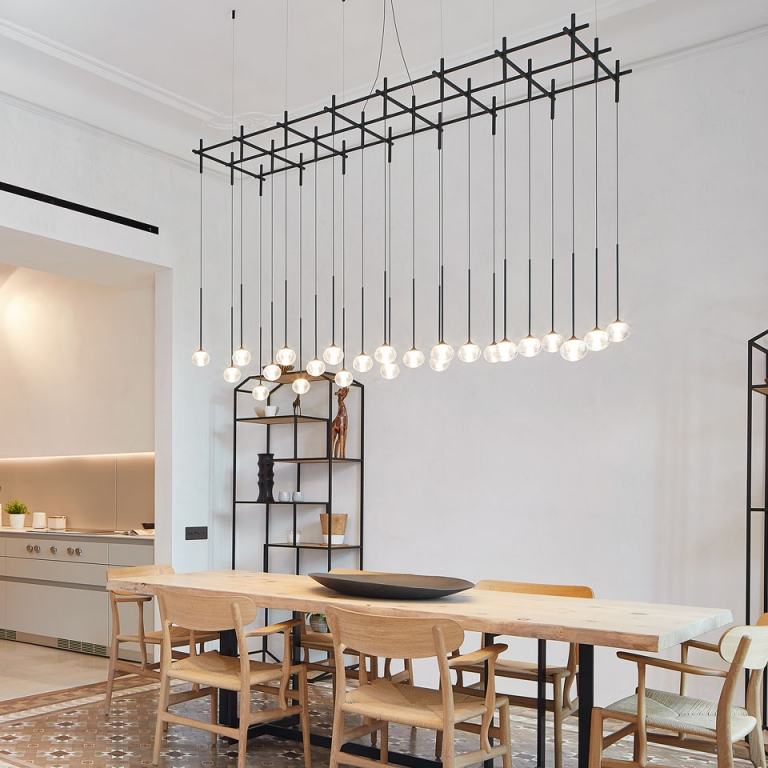 Architects Select Vibia Lighting to Brighten a Historic Barcelona Space