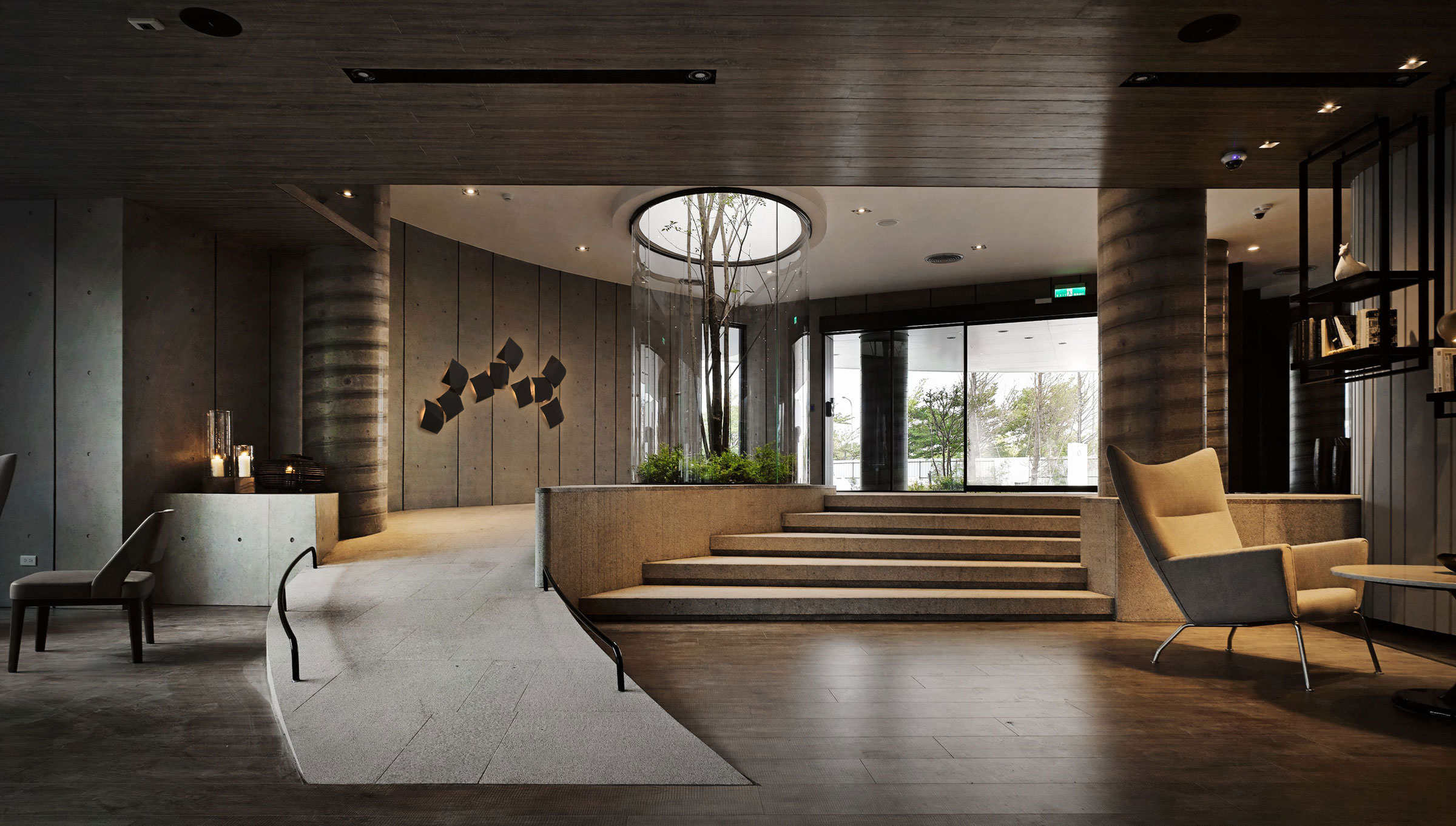Vibia The edit - Vibia Lighting Lends an Organic Look to a Nature-Inspired Community Space - Origami