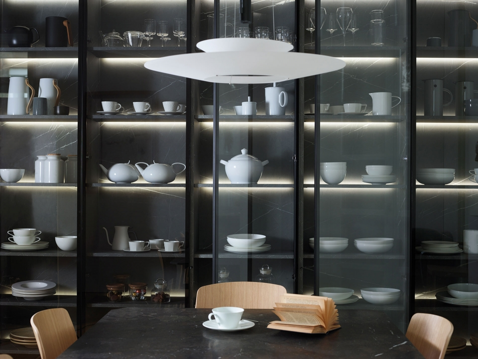 Vibia The Edit - Vibia Lighting Takes Centre Stage in Kitchen Designs - Flamingo
